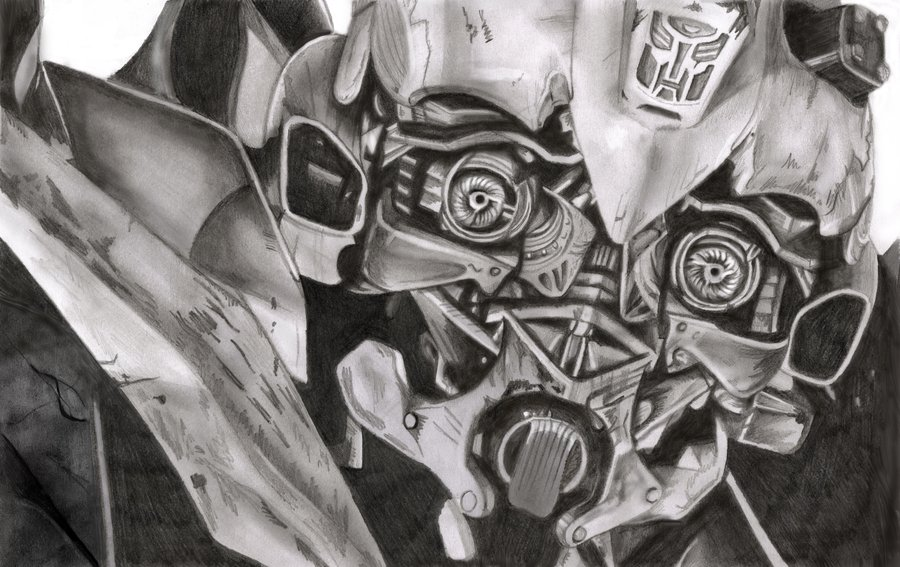 Drawn bumblebee transformers 4 bumblebee How to draw to transformers