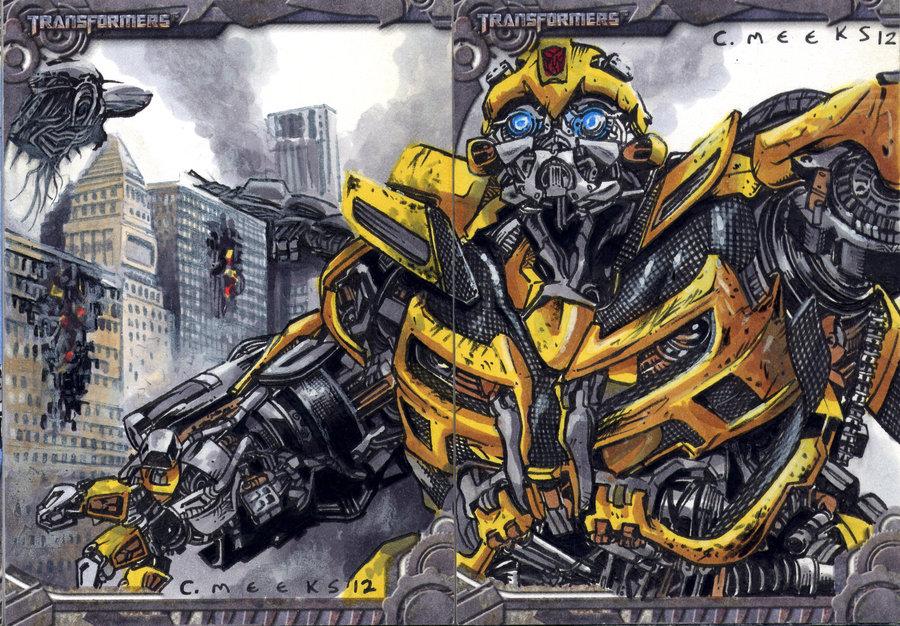 Drawn bumblebee transformers 5 DeviantArt Bumblebee sketch up sketch