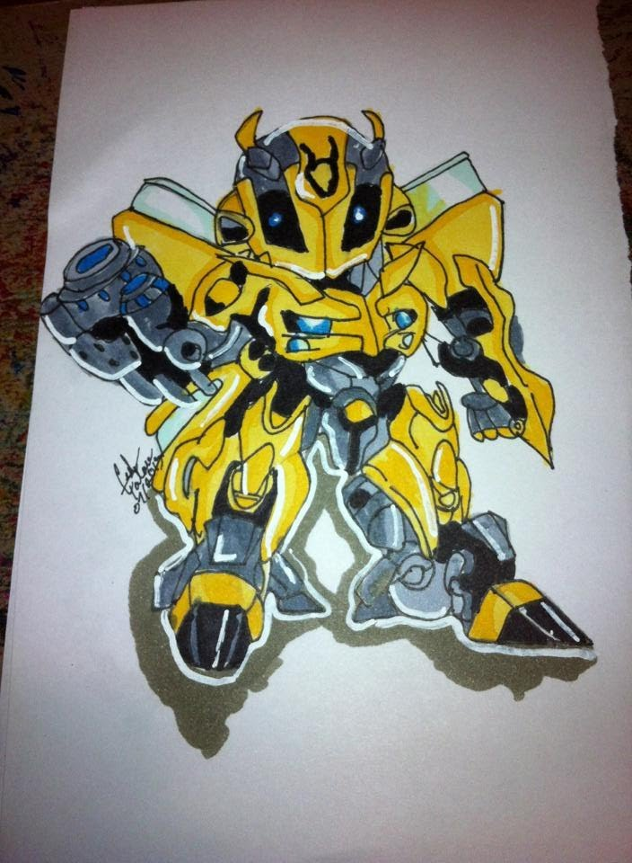 Drawn bumblebee transformers 5 With Transformer drawing YouTube