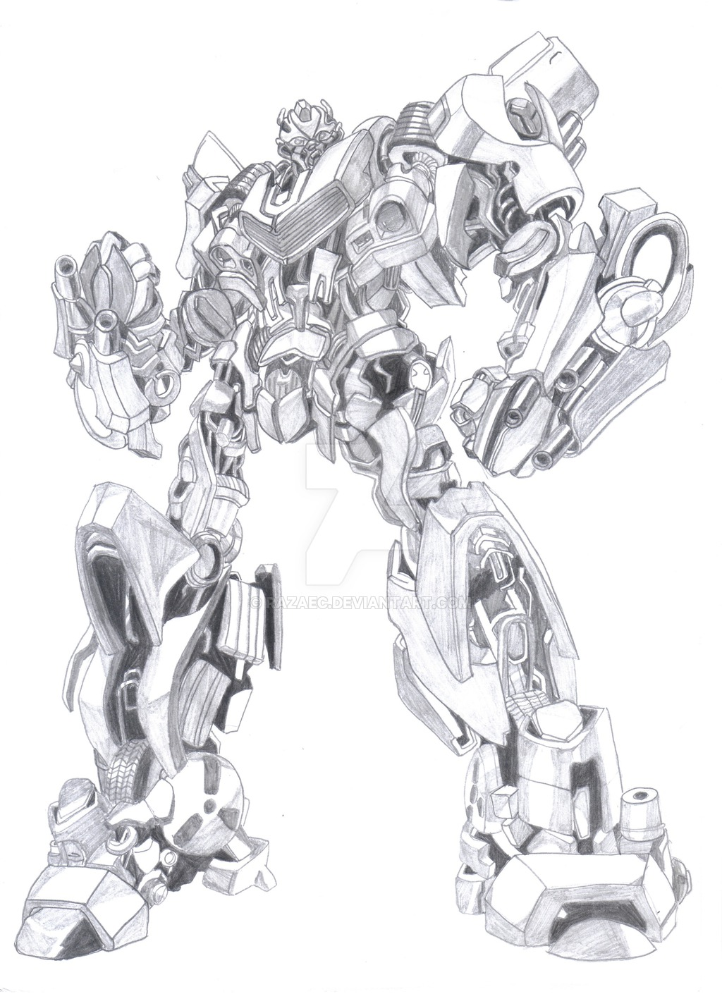 Drawn bumblebee transformers movie Drawing Transformers Drawing Realistic Transformers