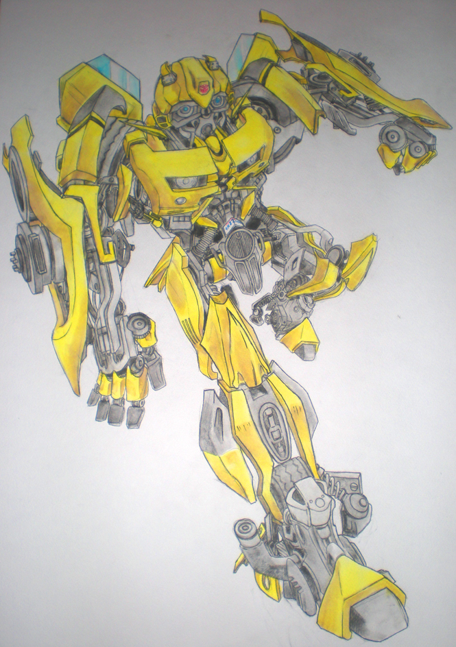 Drawn bumblebee transformers movie Photo#1 Bumblebee Transformers Bumblebee transformers