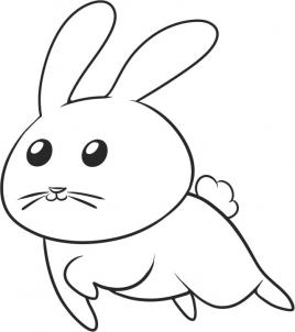 Drawn rabbit Those is are to of