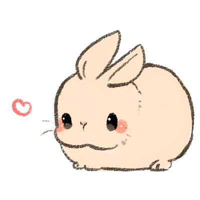 Drawn bunny chubby bunny Animals little What bunny! What