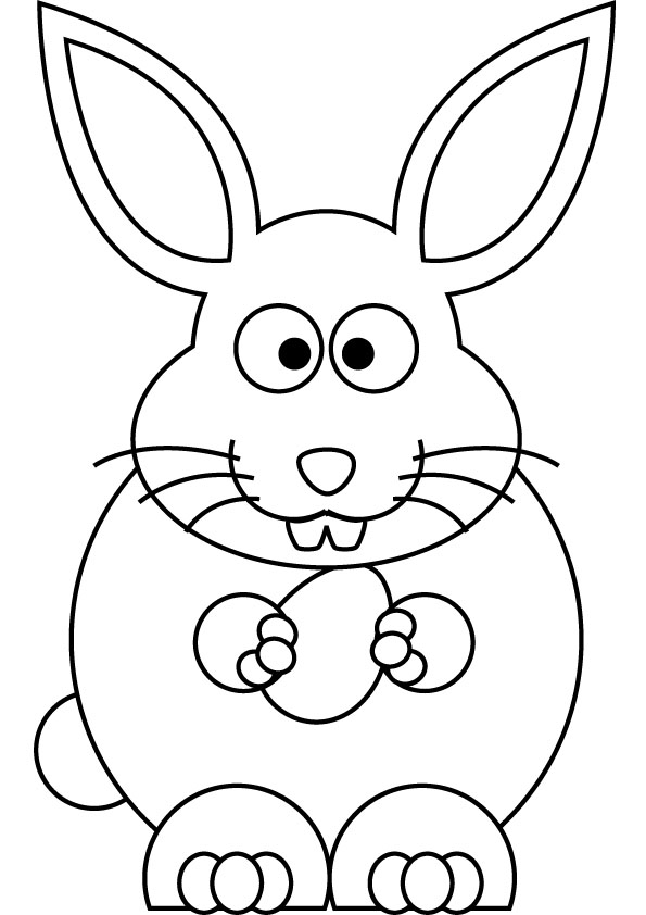 Drawn bunny easter bunny 2017 Happy Easter A (10)