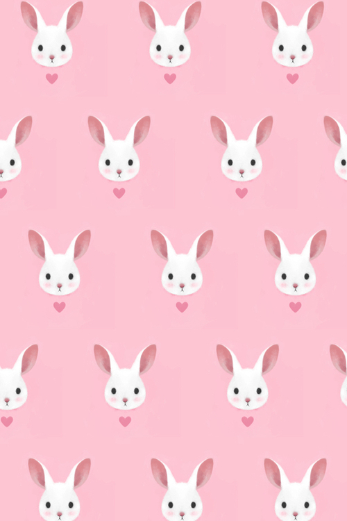Drawn bunny pink bunny This and foudre pink more
