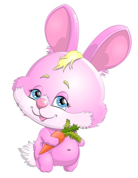 Drawn bunny pink bunny Pink on 189 Carrot images