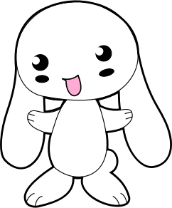 Drawn bunny small IMAGE Clipart Bunny (PNG) SMALL