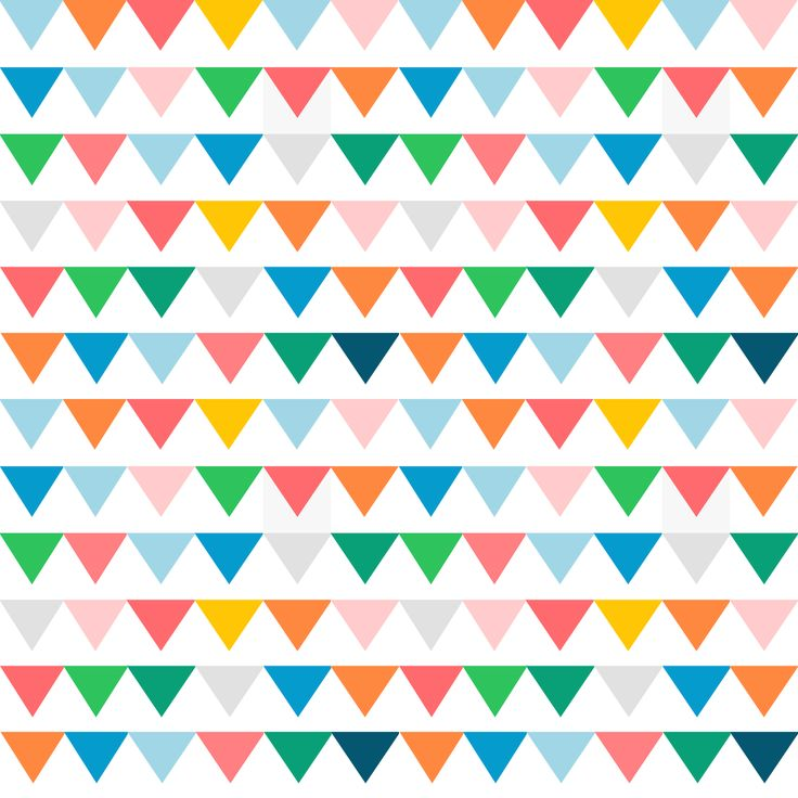 Drawn bunting vector / MeinLilaPark: images FREE printable