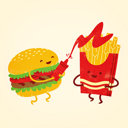 Drawn burger Burger Cartoons Burger Painting this