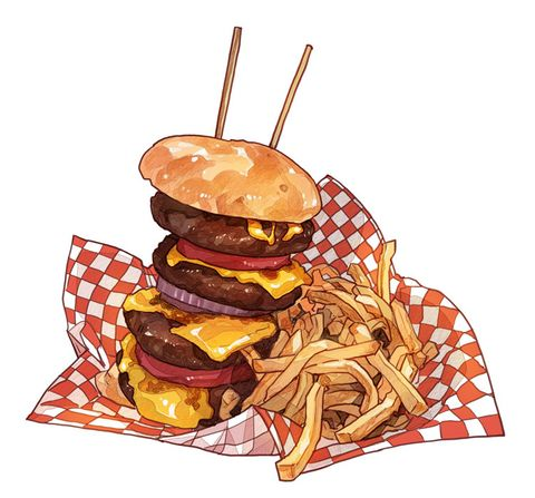 Burger clipart school food About clip fast Best images
