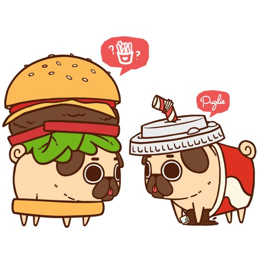 Drawn pug kawaii Pinterest more this best and