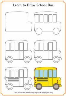 Drawn bus easy bus #12