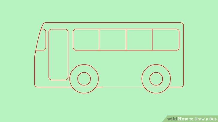 Drawn bus easy bus #7