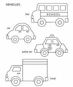 Drawn bus easy bus #15