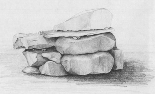 Drawn rock pencil drawing Dennis Learn to draw to