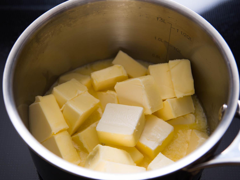 Drawn bumer melted Butter jpg 1 clarified Butter