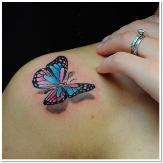 Drawn butterfly but beautiful Cool tattoos Butterfly magazine Own