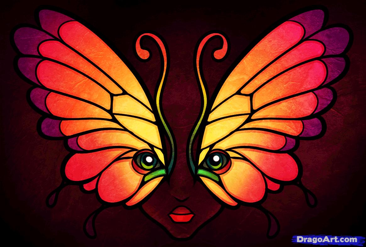 Drawn butterfly dragoart Draw to Tattoos Pop how