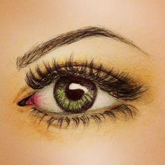Drawn butterfly eye And is Artsy Find eye