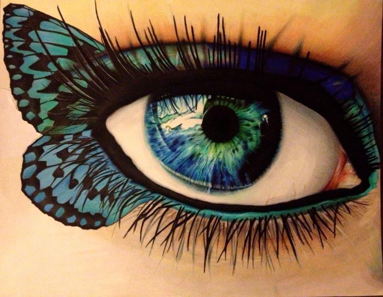 Drawn butterfly eye With amazing Matt Amazing McIntyre