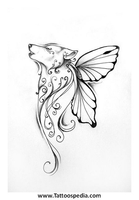 Drawn butterfly native american Tattoo images 36 best butterfly