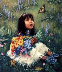 Drawn butterfly native american Bedard Pocahontas Irene and Irene