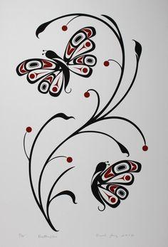 Drawn butterfly native american Carol Kissing Pinterest Pencil on