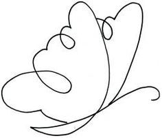 Drawn butterfly one Continuous Drawings Pinterest be 5