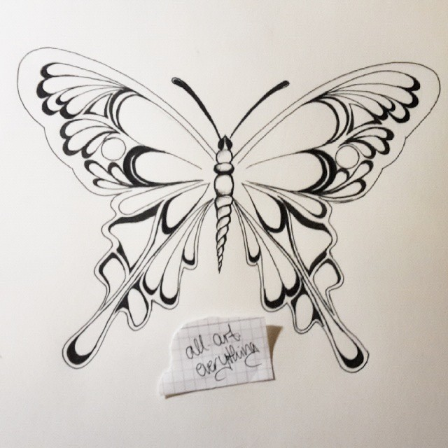 Drawn butterfly psychedelic TattoosPsychedelic #ink #inkdrawing #draw #drawing