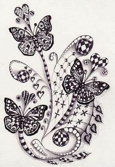 Drawn butterfly psychedelic Com/ and sites original whimsical