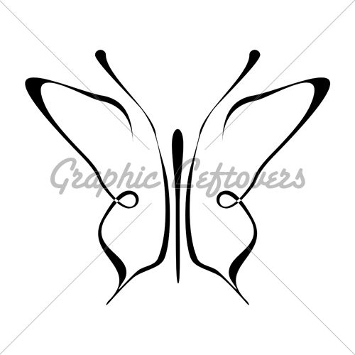 Drawn butterfly simple Easy ideas Best Pinterest 25+