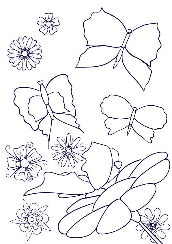 Drawn butterfly simple How Scene Learn Step a