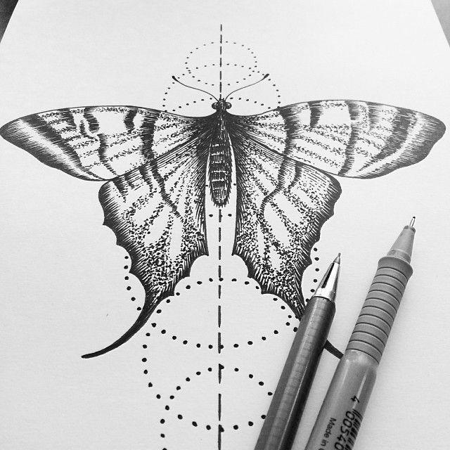 Drawn butterfly stippling Pinterest Stipple best 350 Stipple