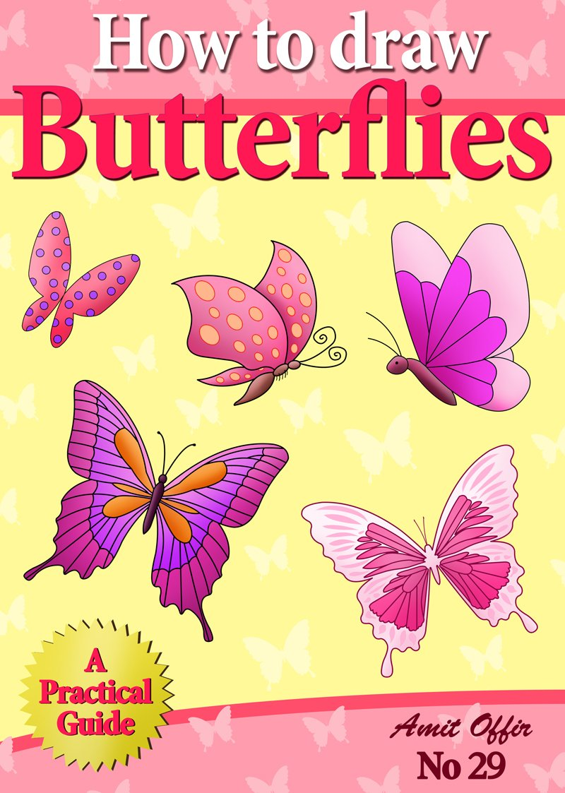 Drawn butterfly the garden drawing Kids How Cool How Cheap