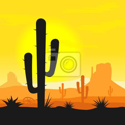 Drawn cactus desert animal Cactus best 22 in PlantsDesertsVectors