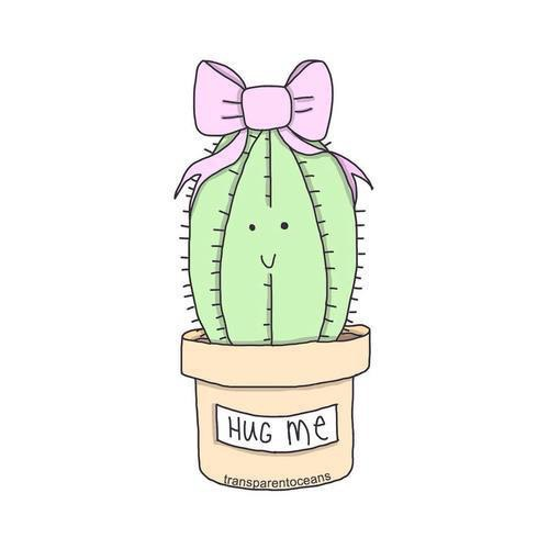 Drawn cactus overlays De cactus Imagen tumblr overlay