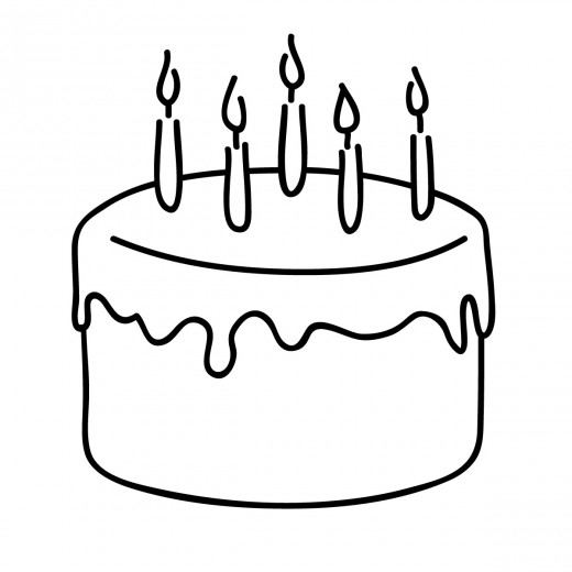 Drawn cake birthday greeting Birthday Happy Quotes Wishes Sister