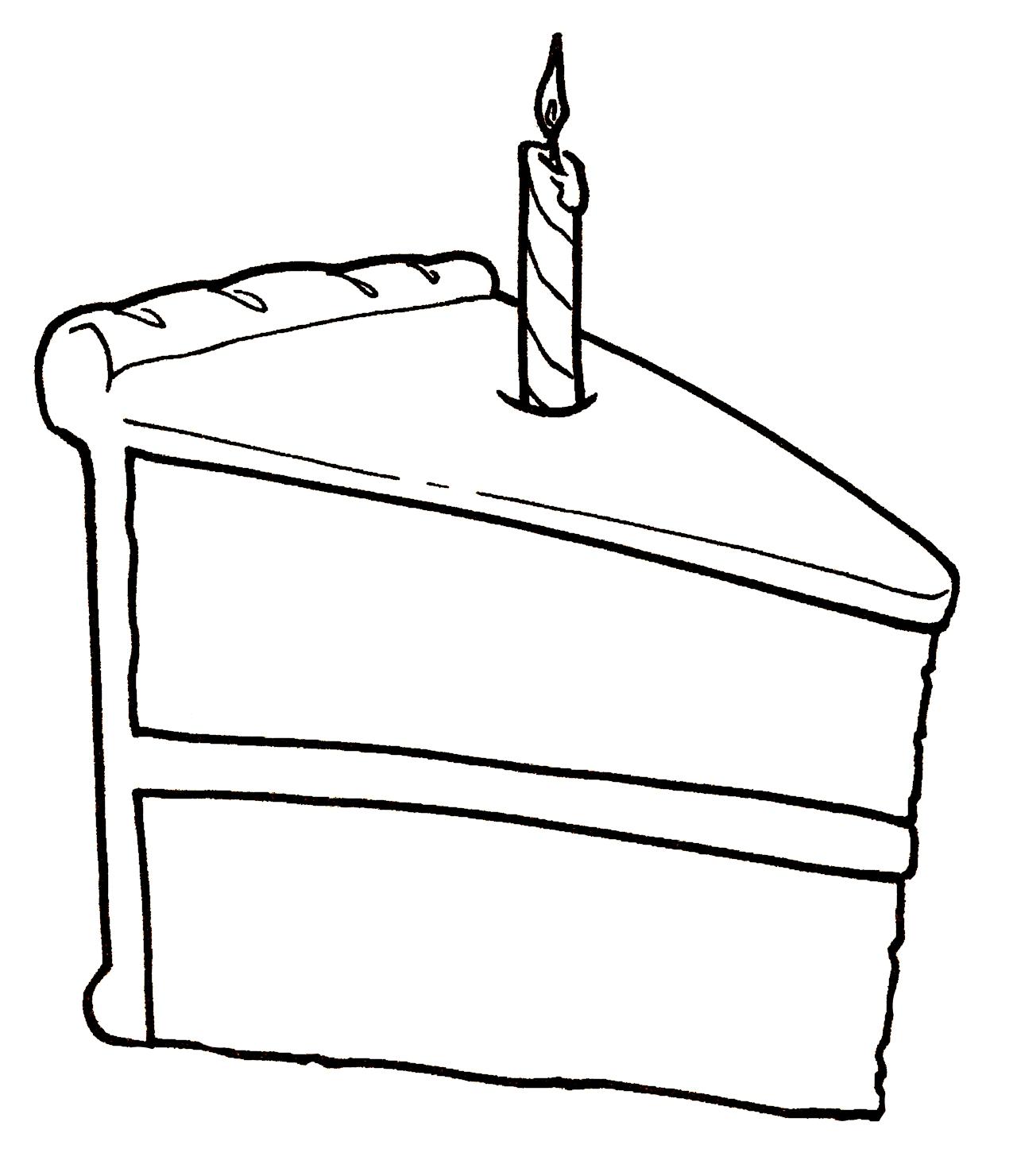 Drawn cake cake slice Cake slice netart chocolate cake
