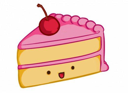 Drawn cake cake slice UmRei Explore on Leonardo Slice