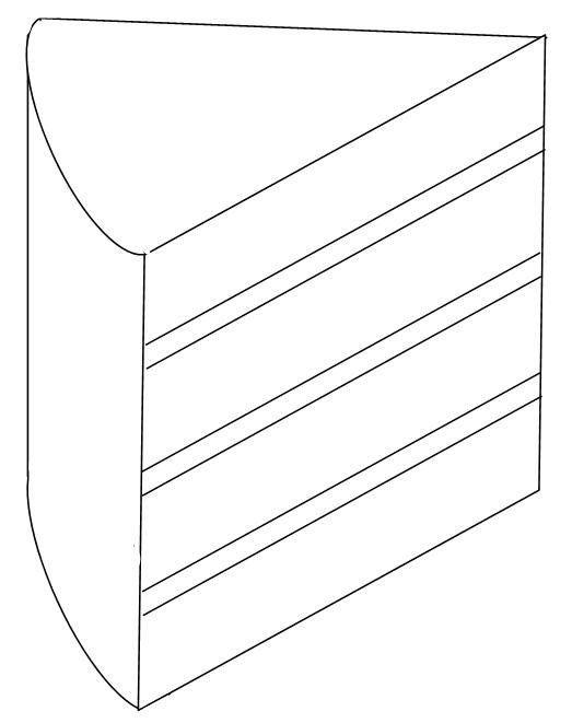 Drawn cake cake slice Pinterest 4 on Sketches layer