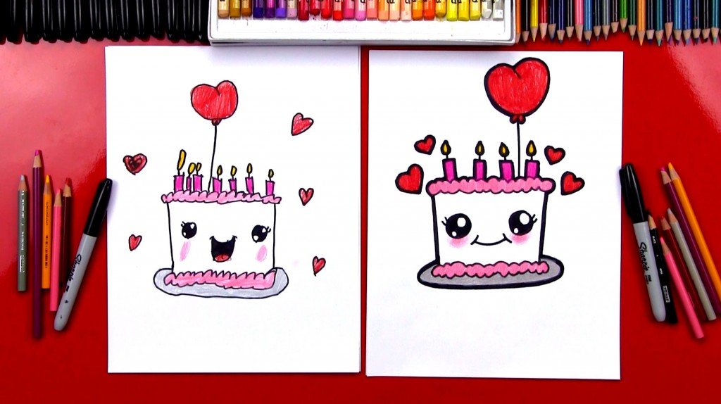 Drawn cake child A Cute Kids Archives For