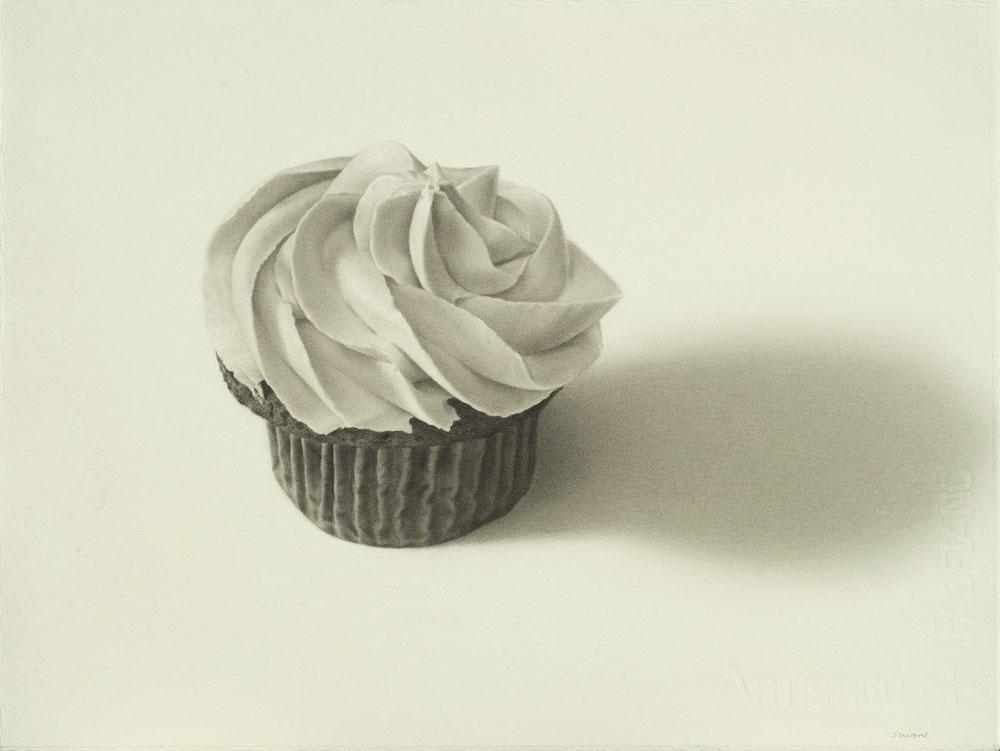 Drawn cake pencil drawing Cupcake klejonka Cupcake is cupcake