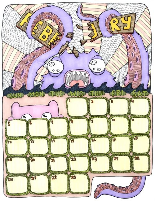 Drawn calendar Hand  Calendar Calendar images