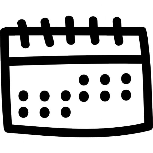 Drawn calendar Tool Download hand Free Calendar