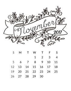 Drawn calendar composition journal #5