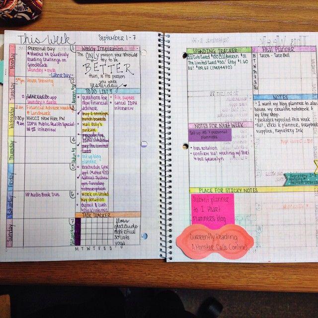 Drawn calendar composition journal #1