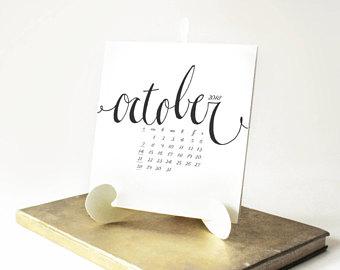 Drawn calendar printable #3