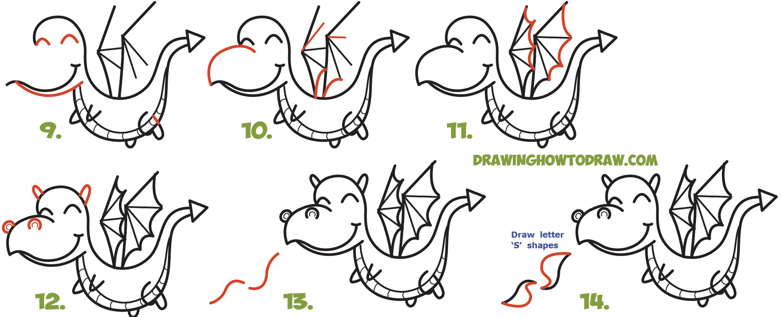 Drawn camel chibi Chibi Easy a with Dragon