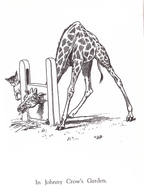 Drawn camel children's Fox images on Vintage books