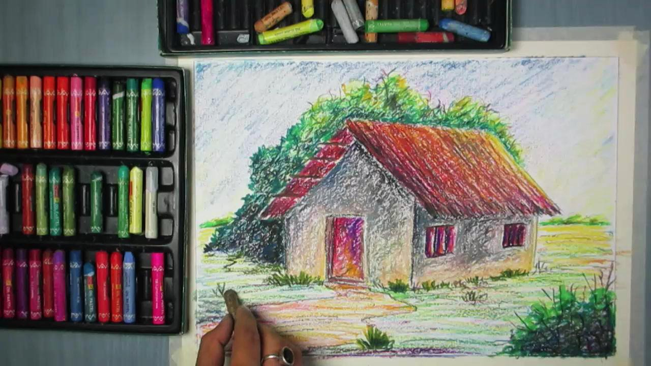 Drawn camel house Pastel How with a YouTube